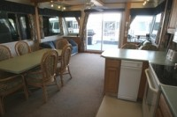 The 59′ XT Houseboat