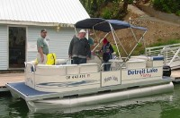 21′ Pleasure Pontoon