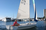Capri 16.5″ Small Sailboat